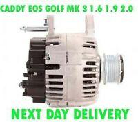 VW Caddy EOS Golf Mk 3 1.6 1.9 2.0 2003 2004 2005 2008>en Rmfd Alternador 110A
