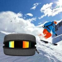 EVA Ski Eyewear Case Skibrille Tragetasche Radfahren Box Zipper Inhaber B7M6