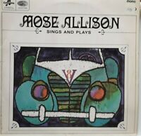 Mose Allison ‎/Sings And Plays UK 1961 FIRST PRESS VERY GOOD+ LP VINYL