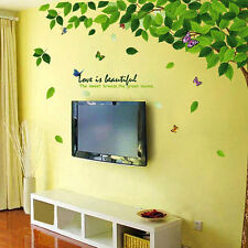 New Green Trees Scenery Removable Wall Art Sticker PVC DIY Decal Room Home Mural