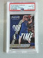 2018 Panini Threads DAZZLE #15 LUKA DONCIC RC Rookie Basketball Card PSA 10