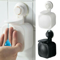 Suction Cup Soap Dispenser Wall Mounted ABS Waterproof Soap Box Home Bathroom HO