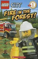 Lego City Fire in the Forest!  Level 1 Children's Reader Picture Story Book BX6