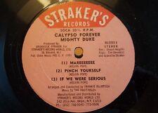 """Poderoso Duque-Calypso Forever 12"""" Vinilo Single Reggae"""