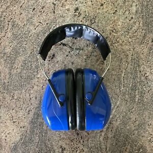 Peltor Tactical Hearing Protector Headset Shooting Practice Blue Color Ear Muffs