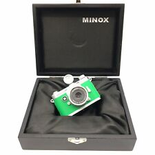 Used Minox Camera Minoctar 9.00 mm Green Silver Vintage - Fast Free Shipping F14