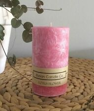 Palm Wax Round Decorative Candles