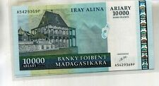 Madagascar 2006 10,000 Ariary Currency Note Cu 48F