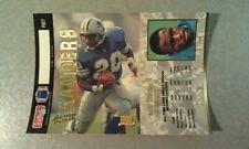Barry Sanders Detroit Lions 1993 Action Pack UNFOLDED Oddball