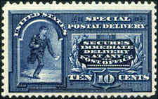 1895 US Stamp #E5 Perf 12 Wmk 191 Mint OG Special Delivery Catalogue Value $210