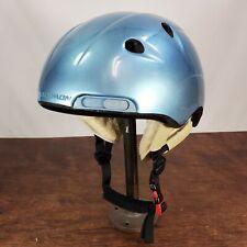 Salomon Siam SL-2 Concept AF Orage Ski/Snowboard Helmet Padded Soft Blue