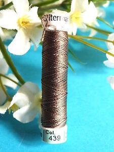 214B / Beautiful Coil Pure Wire Silk Drawstring Gutermann Brown N° 439