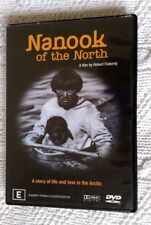 NANOOK OF THE NORTH (DVD) R-4, LIKE NEW, FREE POST WITHIN AUSTRALIA