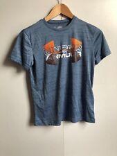 Under Armour Kids UA Tech Big Logo Hybrid T-Shirt - YMD (9-10) - Light Blue