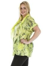 Viscose Butterfly Crew Neck Tops & Shirts for Women