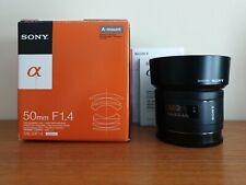 Sony Alpha - Minolta A Mount F1.4 SAL50F14 Low light 50mm Prime Camera DSLR Lens