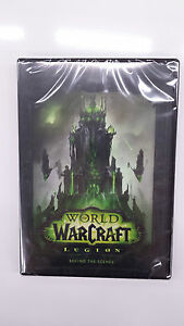 World of Warcraft: Legion Collectors Edition Behind the Scenes DVD Only