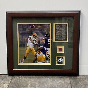 2007 NFL Brett Farve #4 All-Time Touchdown Leader Framed Picture/Plaque 510/2007
