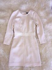 JCrew $228 Double Faced Wool Crepe Dress 0  2P c1063 vintage champagne c1063