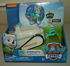 Paw Patrol Everest's Rescue Snowmobile Vehicle and Figure Brand new
