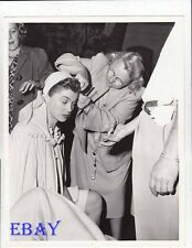 Esther Williams gets make-up checked VINTAGE Photo Take Me Out To The Ball Game
