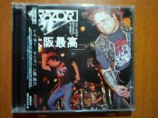 Razor -  Live! Osaka Saikou+ 1 bonus tracks JAPAN Edition