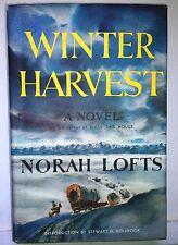 Winter Harvest, Norah Lofts, 1955, Doubleday, hdbk, VGd.