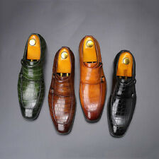 Men's Formal Faux Leather Dress Work Business  Shoes Casual Monk Strap Oxfords