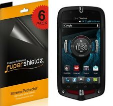 6XSupershieldz HD Clear Screen Protector Shield For Casio G'zOne Commando 4G LTE
