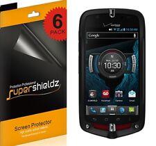6x Supershieldz Clear Screen Protector Shield for Casio G'zOne Commando 4G LTE