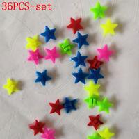 Bicycle Bike Wheel Plastic Spoke Bead Children Kids Clip Colored Decoration 3YBH