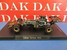 Die cast 1/43 Modellino Auto F1 Lotus 72D Ford JPS 1972 E. Fittipaldi by RBA