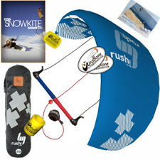 HQ4 Rush Pro V 300 3M Trainer Kite Kiteboarding Surf Snow + How To Snowkite DVD