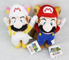 2pcs Super Mario Flying Rabbit Mario & Flying Raccoon Plush Doll Figure Toy Gift