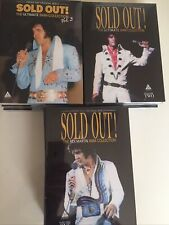 Elvis Sold Out Double Dvds Vol 1 , 2 And 3