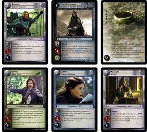 DECIPHER LOTR Lord of the Rings TCG : SHADOWS COMPLETE 266-Card SET + STARTERS