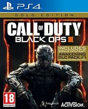 call of duty black ops 3 gold edition   new&sealed