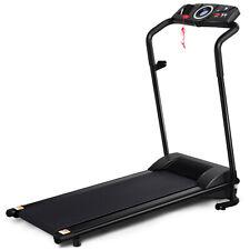 Elektrisches Laufband Heimtrainer Fitnessgerät LCD Display klappbar & rollbar