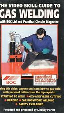 The Video Skill Guide to Gas Welding - (VHS TAPE)