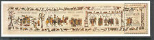 Alderney-Bayeux Tapestry min sheet new issue May 2014 printed in cotton mnh