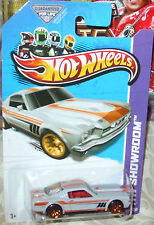2013 Hot Wheels #237-250 Gray '65 Ford 2 + 2 FB Mustang ML 10SG Diecast 4+ 1:64