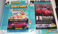 1988 Ralston Dinersaurs Cereal Box Flat cf52 n