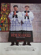 Original 1989 We're No Angels Movie Advertisement De Niro, Penn & Demi Moore