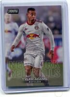 2018 Topps Stadium Club MLS Tyler Adams Rookie RC New York Red Bull, Leipzig, US