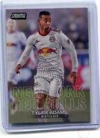 2018 Topps Stadium Club MLS Tyler Adams Rookie RC New York Red Bull, Leipzig, US
