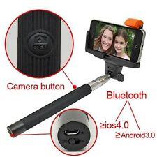 Bluetooth Shutter Extendable Handheld Selfie Stick Monopod for Samsung iPhone 5S