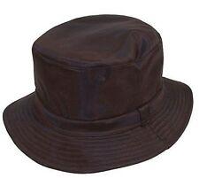 Black Wax Waterproof Bucket Hat 60cm Xlarge. Emmaxgroup
