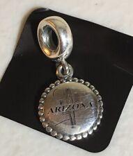 PANDORA Jewelry Custom Arizona Charm EXCLUSIVE AUTHENTIC S925 ALE