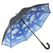 Parapluie Nuages CADEAU BLEU NOIR HOMMES FEMMES bavaroise ciel 5765dl