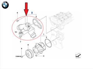 ORIGINAL BMW Thermostat 11531437040 3er E46 5er E39 E60 E61 - 11531437040